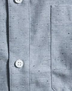 M. Heath Tweed Shirt Aquatic Mel.