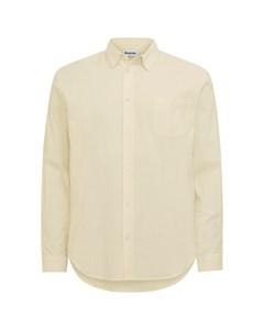 Regular Shirt Light Yellow