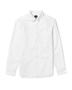Chapman Regular Fit Oxford Shirt White