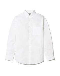 Tillman Cotton Poplin Slim Fit Shirt White