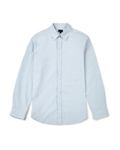 Tinsley Cotton Poplin Slim Fit Shirt Pale Blue
