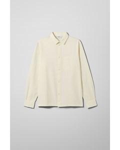 Wise Seersucker Shirt White