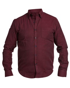 Solid Flanell Shirt Dk Red