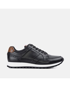 Mens Gs Canvey Black Trainer