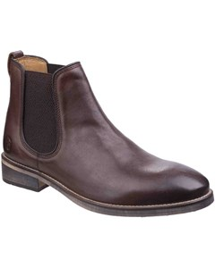 Cotswold Mens Corsham Town Leather Pull On Casual Chelsea Ankle Boots