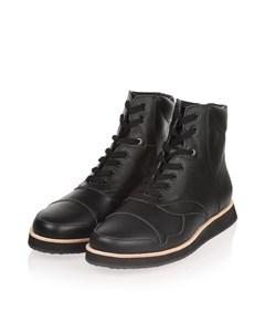 570g Black Top Grain Leather