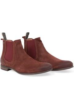 Cumberland Suede Shoe Rust