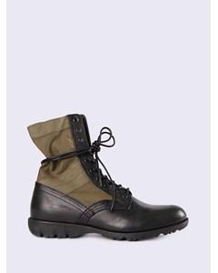 24x7 D-24x7 Boot - Military Olive/black