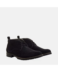 Suede Water Resistant Boot Black