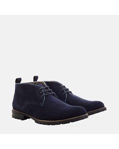 Suede Water Resistant Boot Navy