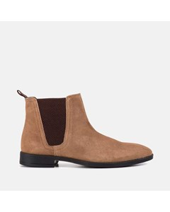 Square Toe Chlesea Boot  Tan