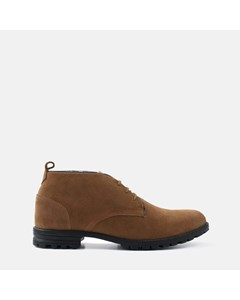 Suede Water Resistant Boot Tan