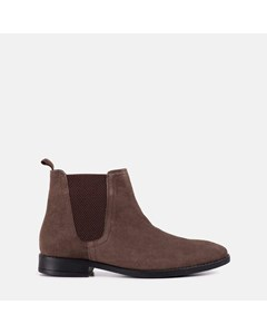 Square Toe Chlesea Boot Brown