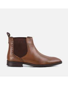 Walker Black Chelsea Boot Tan