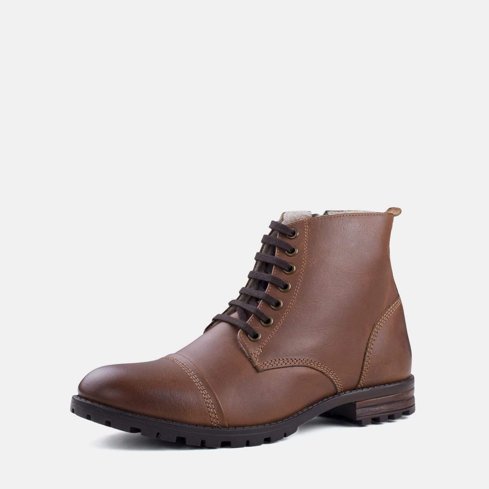 Fur Warm Lined Boot Tan