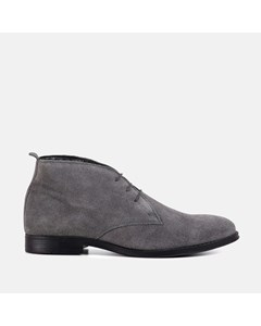 Mens Grey Desert Boot