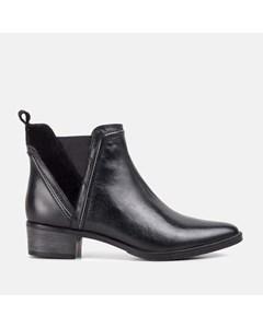 Ladies Black Pointed Toe Chelsea Boot