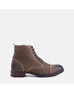 Mens Brown Fur Lined Boot