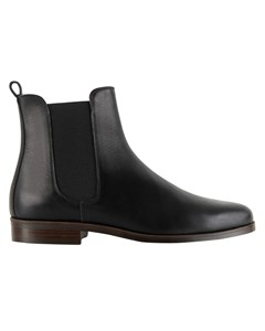 Grained Leather Boots The Collector Le Collectionneur
