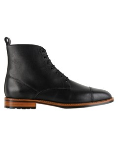 Le Gaillard Grained Leather Boots Le Gaillard