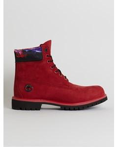 6 Inch Premium Boot  Ruby