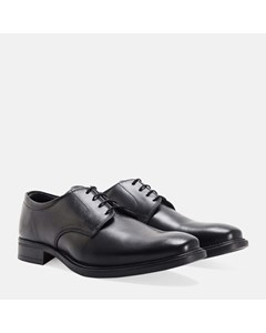 Shoeprimo Black Gibson Shoe (rubber Sole) Black