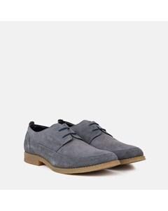 Mens Grey Apron Desert Shoe