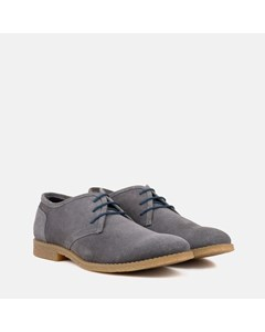 Mens Grey Desert Shoe