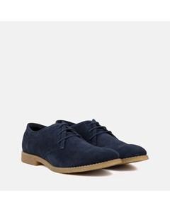 Mens Navy Desert Shoe