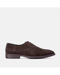 Mens Rf Harris Brown Suede Brogue