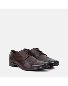 Mens Brown Derby Brogue