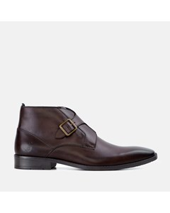 Gs Mens Logan Brown Monk Strap Boot