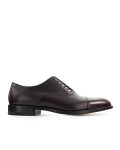 Moreschi Dark Brown New York Oxford Lace Up Shoe