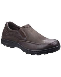 Fleet & Foster Herren Goa Leder Slip-On Schuhe