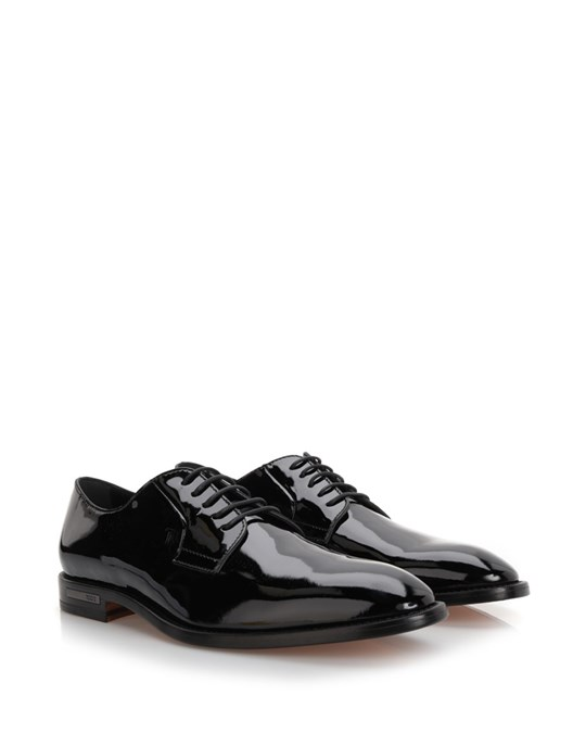 Tod's Patent Derby Shoes  Black
