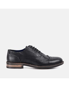 Chunky Oxford Brogue Shoe Black