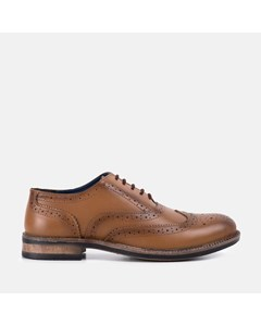 Chunky Oxford Brogue Shoe Tan