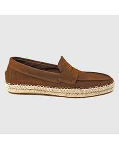 Daniel Suede Espadrilles Leather Brown