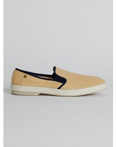 Perforated Slip On Shoes White