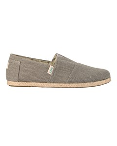 Canvas Espadrilles With Rope Detail Classic Essential Grey 040