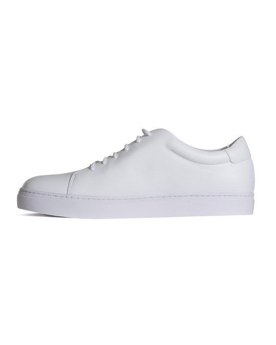 SIR of Sweden Wallace White Leather Sneakers