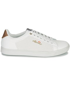 Oscar Classic Low Sneakers With Perforated Effect And Gold Detail