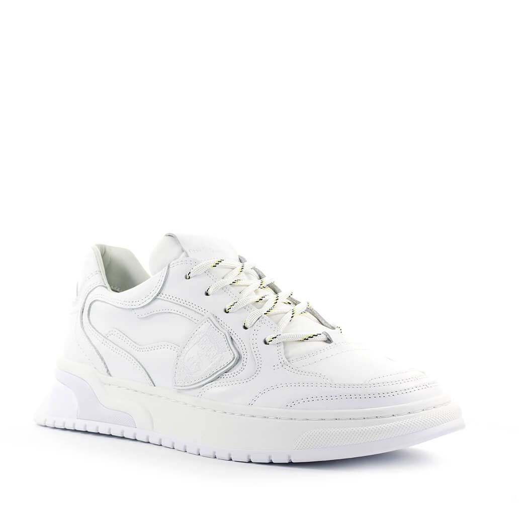 Philippe Model Saint Denis White Leather Sneaker | Upp till