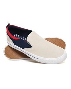 International Slip On Off White/navy/red