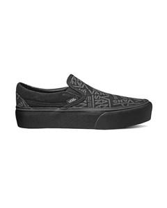 Ua Classic Slip-on Platform Black