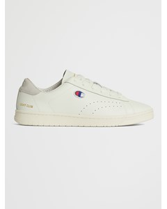 Low Cut Shoe Court Club Patch White
