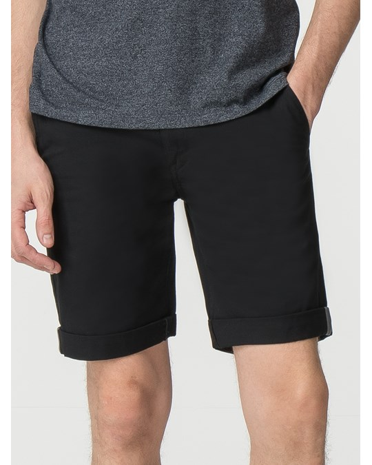 Ben Sherman Slimstch Chino Short True Blk