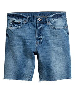 R.w Shorts Cut Off Blue
