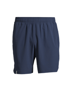 M Long Shorts Pushing Blue