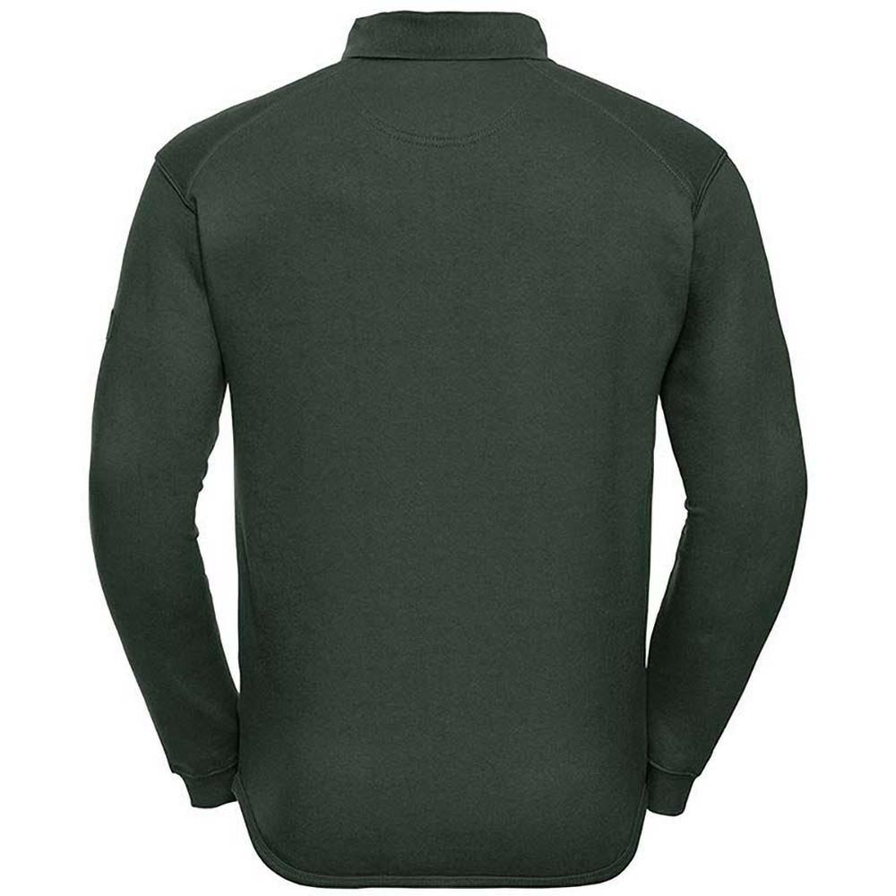 Russell Sweatshirt »Europe Herren mit Knopfleiste und Kragen